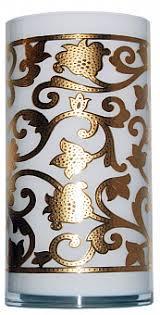 <b>Ваза Gold Flower</b>, <b>малая</b> в подарок - Roskogifts