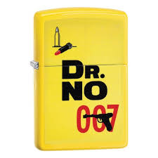 <b>Зажигалка ZIPPO James Bond</b> с покрытием Lemon™, жёлтая ...