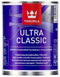 <b>Краска</b> акриловая <b>Tikkurila Ultra Classic</b> полуматовая — купить по ...