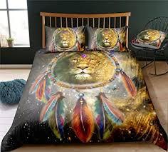 SK-PBB Dream Catcher <b>Indian Style Animal</b> Microfibre Cushion ...
