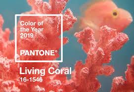 Pantone <b>Color</b> of the Year <b>2019</b> | Living Coral 16-1546