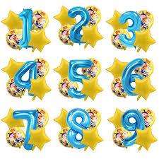 5pcs <b>Despicable</b> Me Minions Birthday Party Foil Balloon Helium ...
