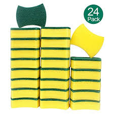 Exterior Care High Density Sponge Scouring Pad Lasting Kitchen ...