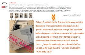 2019 NEW Lescolton <b>Ice cool IPL</b> Epilator Permanent Laser Hair ...