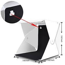 Emart <b>Portable</b> Studio <b>Photo</b> Box, 40 LED <b>Foldable Mini</b> Table Top ...