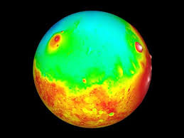 Image result for Mars' two hemispheres