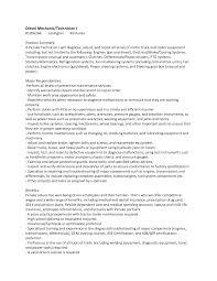 best photos of diesel technician resume diesel mechanic resume diesel mechanic resume template