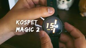 <b>Kospet Magic 2</b> SmartWatch Unboxing - YouTube