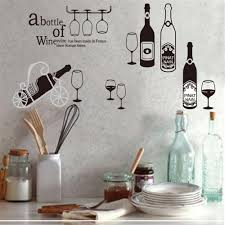 household dining table set christmas snowman knife: creative summer drinks wine wall stickers for kids rooms home decor sofa dining table wall decal