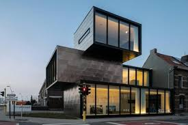 design of office building. containershaped office building with multiple fronts u2013 hectaar design of m