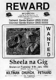 Image result for sheela na gig stolen poster