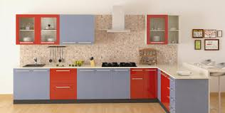 shape pvc kitchen trendy red