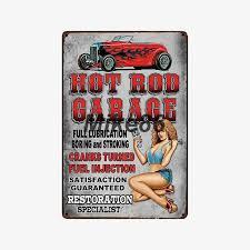 2019 的 [ <b>Mike86</b> ] Garage <b>Man</b> Cave Motor Hot Rod Metal Sign ...