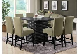 counter height modern dining table  dining room coaster counter height dining set best picture of counter