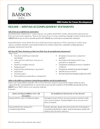 accomplishments in resume business proposal templated business accomplishments for resume resume