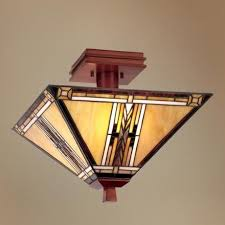 mission style lighting fixtures chandeliers walnut mission collection 14 wide ceiling light fixture 23734 artistic lighting fixtures