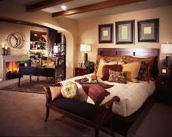 big master bedrooms couch bedroom fireplace:  room master bedroom in brown color scheme