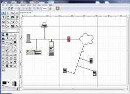 free tools to draw a network diagram   hardboiledcade is a primarily a cad tool  but it also has fairly robust network diagramming functionality  it might not have some of the extras that a paid program