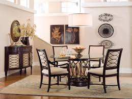 Round Dining Room Furniture Round Glass Dining Room Sets Endltk