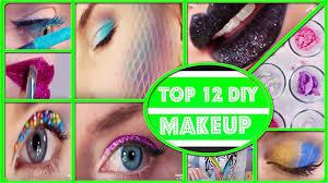 awesome diy makeup life hacks top 12 makeup life hack tutorials for girls diy makeup ideas awesome diy makeup