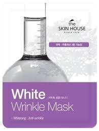 The Skin House <b>тканевая маска от морщин</b> и пигментации White ...