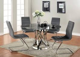 glass top sets dining room