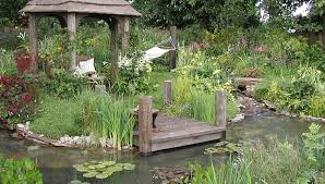Small Picture Formal and Natural Garden Pond Designs Landscape Garden