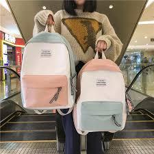 2019 Female High Quality <b>Canvas</b> Travel Backpack Women <b>Mochila</b> ...