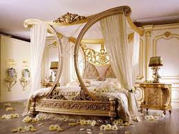 queen canopy bed faux