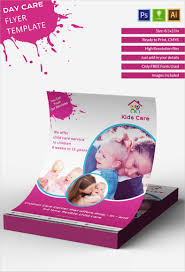 daycare flyer psd ai vector eps format gorgeous day care flyer daycare flyer template