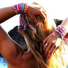Hot <b>Bohemian Thread Bracelet Retro</b> Handmade Boho Multicolor ...