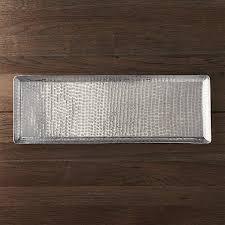 crate and barrel exclusive luau 825x235 party platter aluminum crate barrel