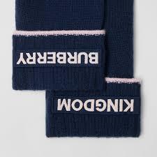 Кашемировые <b>перчатки</b> с принтом Kingdom (Темно-синий ...