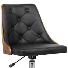 Armen Living <b>Diamond Black</b> Contemporary Adjustable Height ...