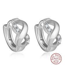 2017 <b>New Arrival</b> 8 Design 925 sterling silver earings <b>U shape</b> stud ...