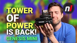Genesis Mini Gets The Tower of Power | Sega CD Mini & 32X Mini ...