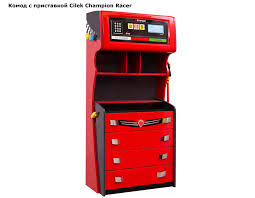 <b>Cilek Champion Racer комод</b> с приставкой - купить в интернет ...