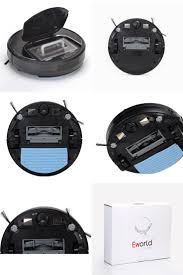 [Visit to Buy] <b>Eworld M883 Robot Vacuum Cleaner</b> Wet and Dry Mop ...