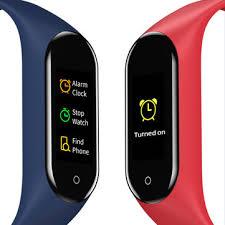 <b>Bakeey m4v</b> custom dials full touch screen heart rate blood pressure ...