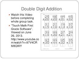 Touchy, touch mathAddition Examples; 11.