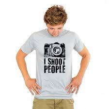 <b>I SHOOT PEOPLE</b> [T-shirt] | FatOwlTees