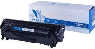 Тонер-<b>картридж NV Print Q2612A</b>/FX-10/703, черный, для ...