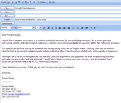formatted sample email cover letter example pmgqzapi format of email cover letter