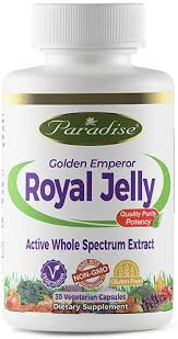 Paradise Herbs Vegetarian Capsules, Royal Jelly, 30 ... - Amazon.com