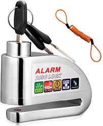 <b>Disc</b> Brake Lock, COOCHEER <b>Motorcycle</b> Alarm <b>Disc</b> Lock Anti-theft ...