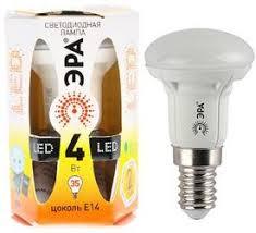 Купить <b>Лампа светодиодная</b> ЭРА <b>LED smd</b> R39-4w-827-E14 по ...