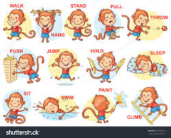 action verbs clipart clipartfest the verb signals an action