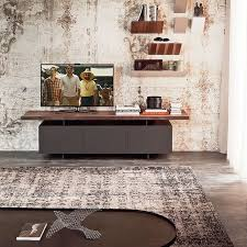 trendy tv units for the space conscious modern home atlas chunky oak hidden home office