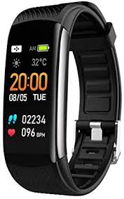 Leed <b>C6S</b> Waterproof <b>Fitness</b> Activity Tracker - <b>Calorie Step Counter</b>