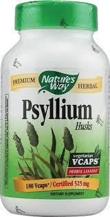 Nature's Way <b>Psyllium Seed Husk</b> -- <b>3150</b> mg - 180 Vegan Capsules ...